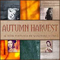 Autumn Harvest Icon Textures by jordannamorgan
