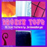 Broken Toys Icon Textures by jordannamorgan