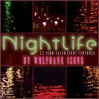 Nightlife Icon Textures by jordannamorgan