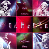 Funhouse Icon Textures by jordannamorgan