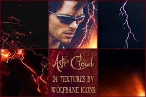 Ash Cloud Icon Textures by jordannamorgan
