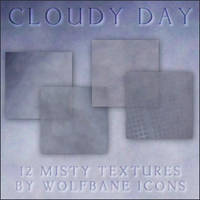 Cloudy Day Icon Textures by jordannamorgan