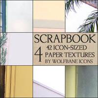 Scrapbook 4 Icon Textures by jordannamorgan
