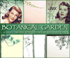 Botanical Garden Icon Textures by jordannamorgan