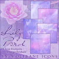 Lily Pond Textures by jordannamorgan