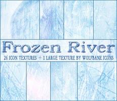 Frozen River Texture Set by jordannamorgan