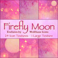 Firefly Moon Texture Set by jordannamorgan