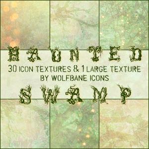 Haunted Swamp Texture Set by jordannamorgan