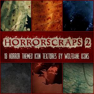 HorrorScraps 2 Icon Textures by jordannamorgan