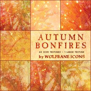 Autumn Bonfires Texture Set