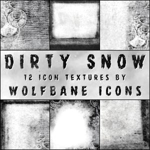 Dirty Snow Icon Textures by jordannamorgan on DeviantArt