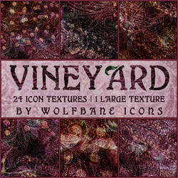 Vineyard Texture Set by jordannamorgan