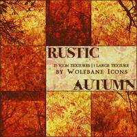 Rustic Autumn Texture Set
