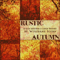 Rustic Autumn Texture Set