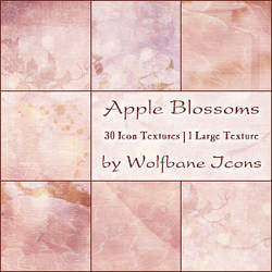 Apple Blossoms Texture Set