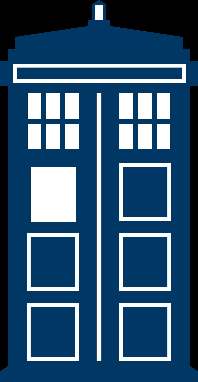 TARDIS Simple Vector by PC012 on DeviantArt