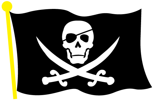 Vector Pirate Flag Clip Art by ZombiePoppa on DeviantArt