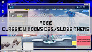 FREE!! WINDOWS 95/98 Style TWITCH overlay!