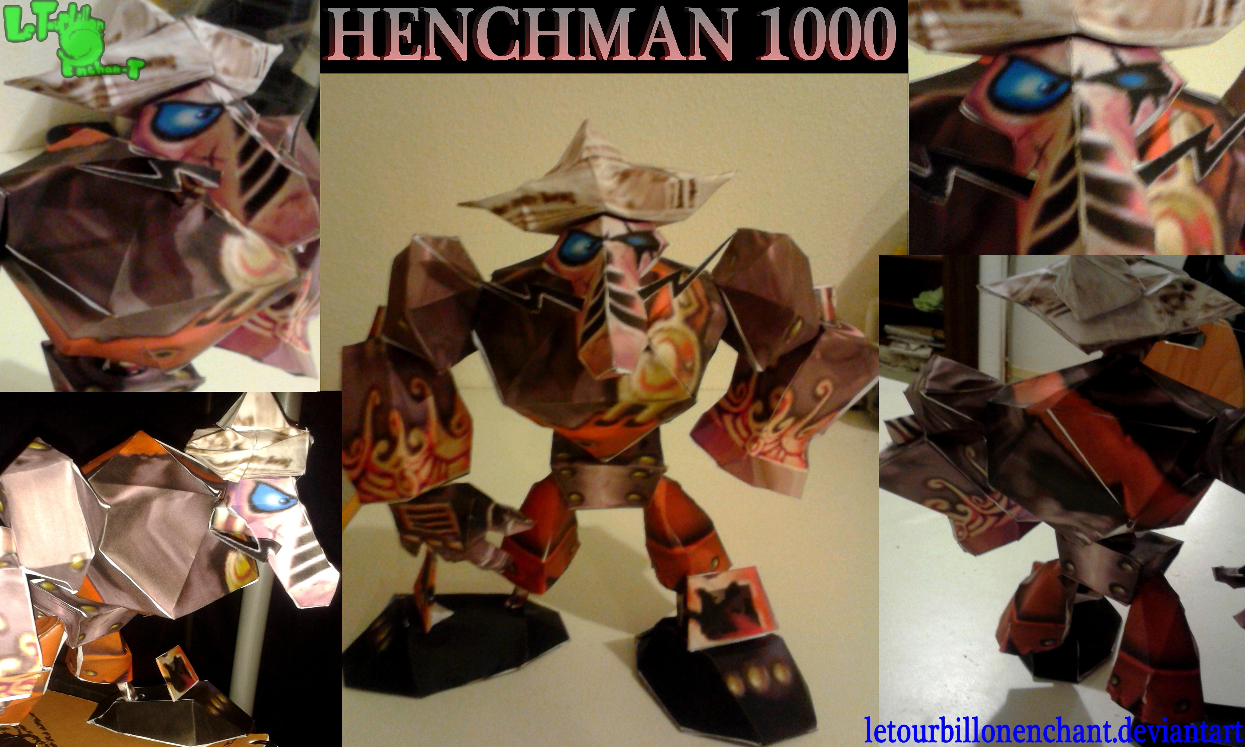 Rayman M - Henchman 1000 - LTE-T Papercraft by LeTourbillonEnchanT