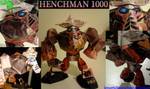 Rayman M - Henchman 1000 - LTE-T Papercraft by LeTourbillonEnchanT