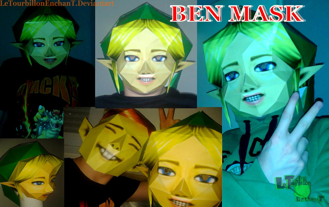 Zelda MM -BEN Mask- LTE-T Papercraft by LeTourbillonEnchanT