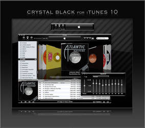 Crystal Black iTunes 1.3.1 by marsmuse