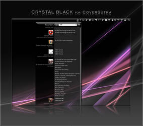 Crystal Black for CoverSutra by marsmuse