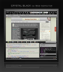 Crystal Black: Web Inspector by marsmuse