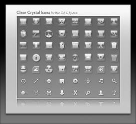 Clear Crystal Icons and Installer by marsmuse