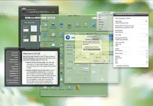 CrystalClear Interface 2.5.8.8