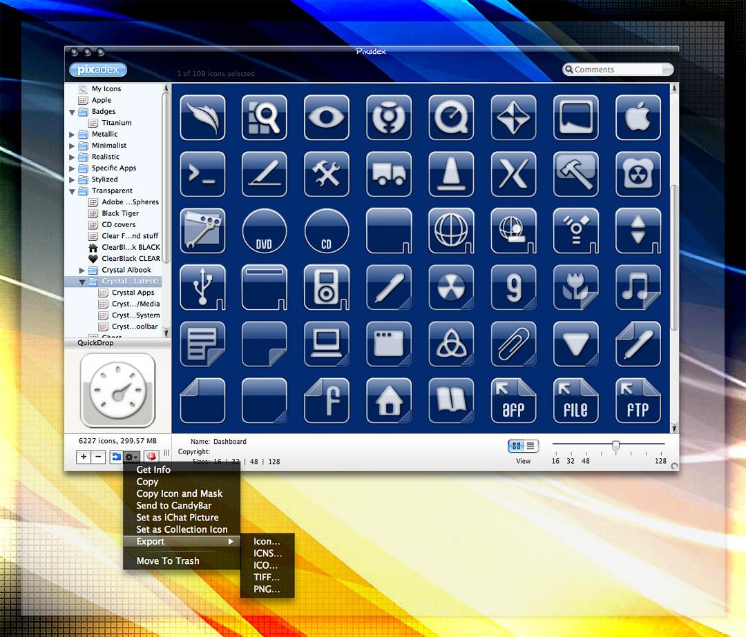 Crystal Albook Icons v1.0