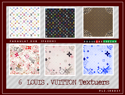 LOUIS VUITTON TEXTUERS by Farawlat-dxb