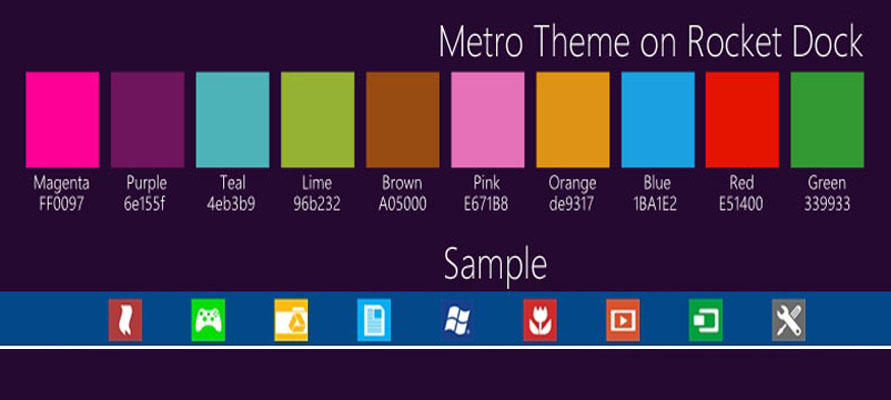 metro theme on rocket dock by xtian0705 on deviantart