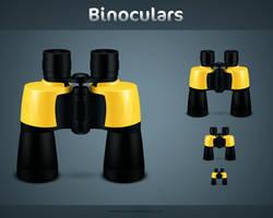 Binoculars by kyo-tux