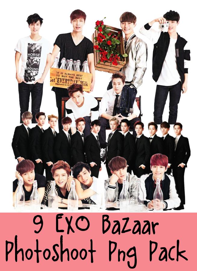 EXO Bazaar PNG Pack by dyoomma