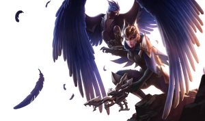 Quinn and Valor classic render