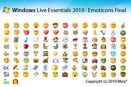 Deviantart: more like windows live emoticons 2010 by454