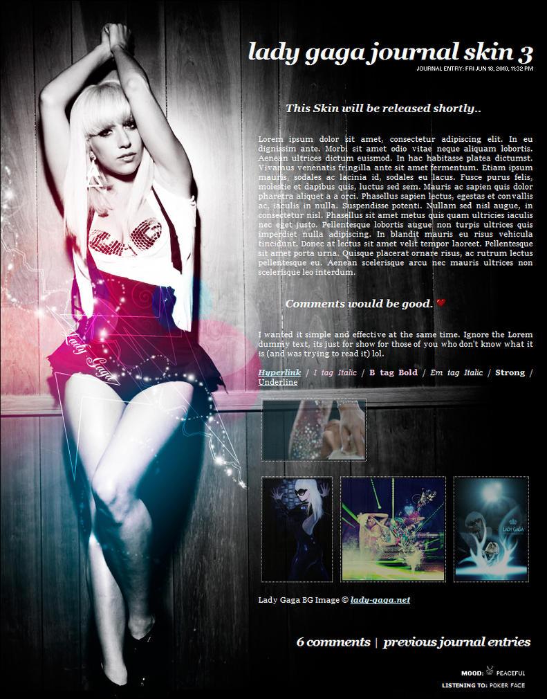 Lady Gaga Skin V3 by Infinite705