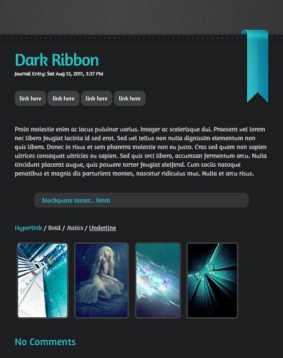 Dark Ribbon by Infinite705