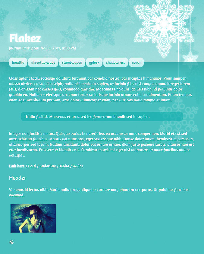 Flakez by Infinite705