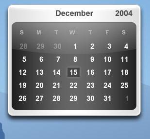 Smooth Alternative Calendar by 6XGate