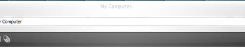Smooth Alternative Toolbar by 6XGate