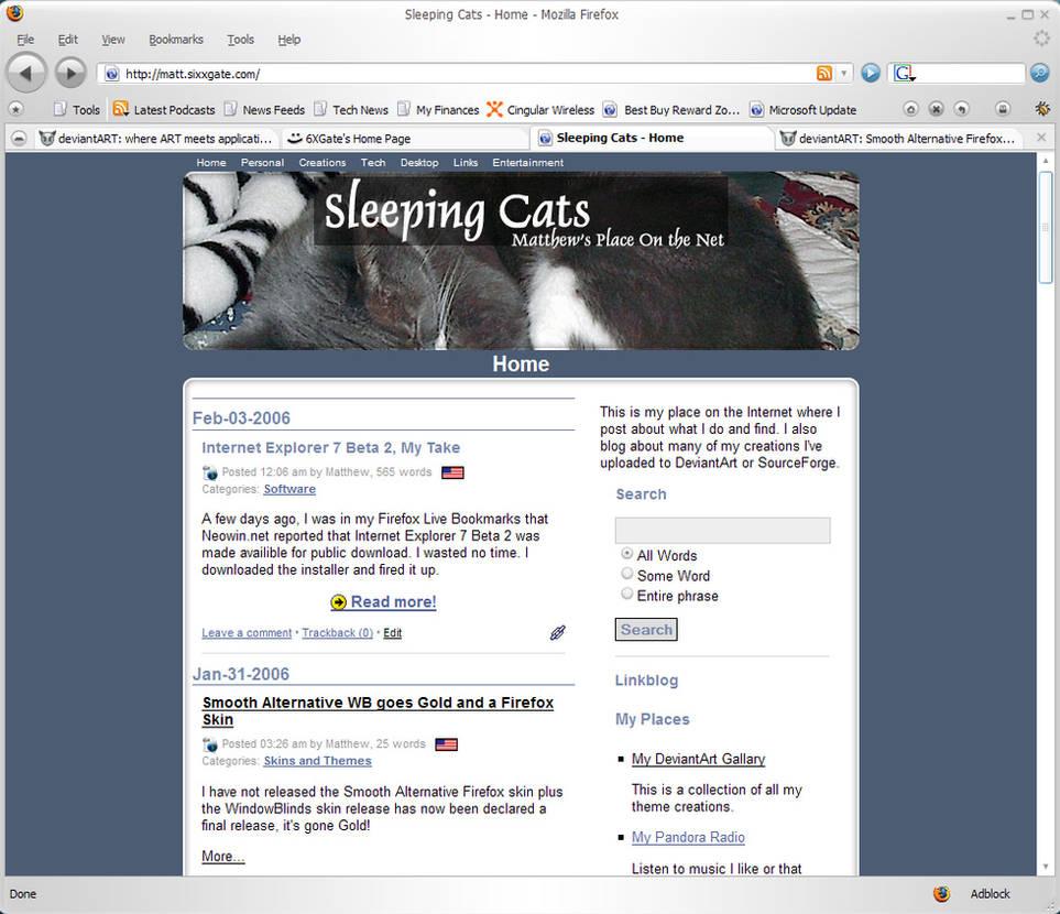 Smooth Alternative Firefox by 6XGate on DeviantArt