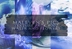 Texture pack - Water and flowers