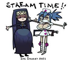 Skullgirls Art Stream