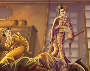 Geisha Assassin by CJRuiz