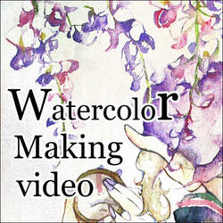 Watercolor painting video by muttiy