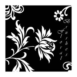 Floral Motif Brushes by d00bie