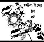 Temp Tattoo Brushes