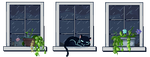 |F2U| Windows (Rain) by Kuro-qu